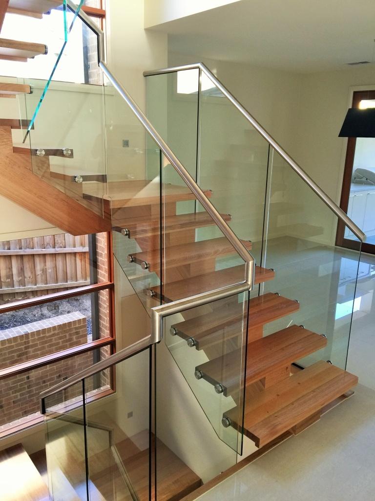 Frameless Glass Stair Balustrade
